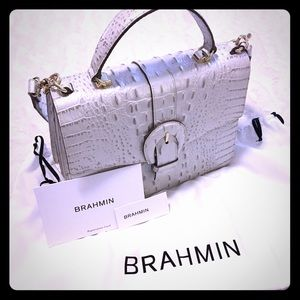 Brahmin Melbourne Gabriella in Toasted Macaroon
